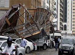 Abu Dhabi reviewing building rules after storm damage