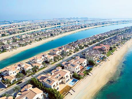 How is construction affecting UAE real estate?